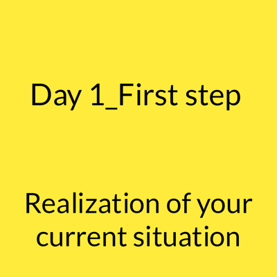 Want to be successful_day 1