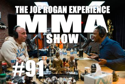 Cover art for JRE MMA Show #91 with Radio Rahim