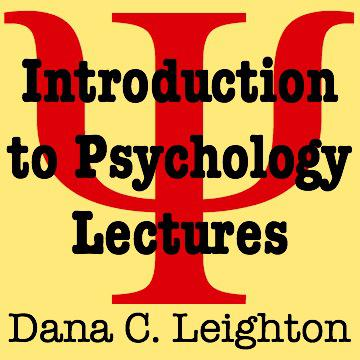 Psychology class lectures for Introduction to Psychology