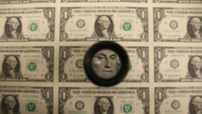 Cover art for The dollar is going down