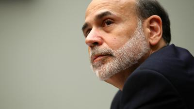 Cover art for Ben Bernanke on saving the American economy