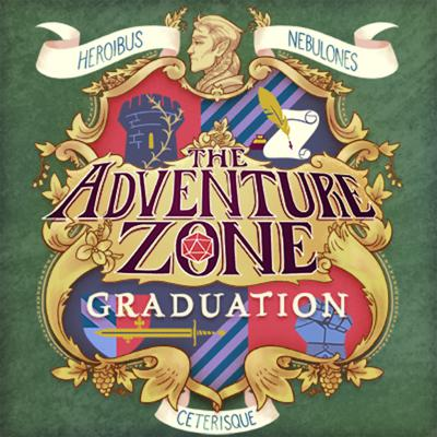 "Cover art for The Adventure Zone: Graduation Ep. 6 ""Long Overdue"""