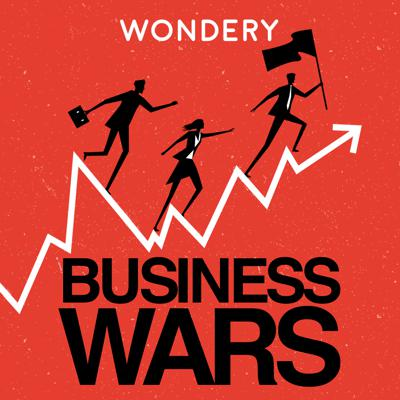Netflix vs. HBO. Nike vs. Adidas. Business is war. Sometimes the prize is your wallet, or your attention. Sometimes, it's just the fun of beating the other guy. The outcome of these battles shapes what we buy and how we live.Business Wars gives you the unauthorized, real story of what drives these companies and their leaders, inventors, investors and executives to new heights -- or to ruin. Hosted by David Brown, former anchor of Marketplace. From Wondery, the network behind Dirty John and American History Tellers.
