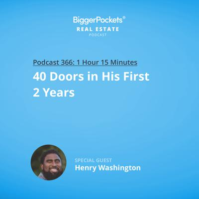Cover art for 366: 40 Doors in His First 2 Years with Henry Washington