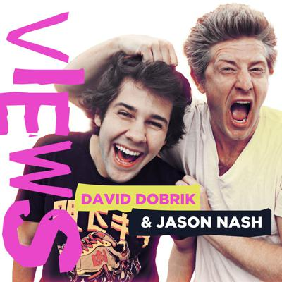 """In this weekly podcast, David Dobrik, a 23-year-old, sexy, millionaire YouTuber and Jason Nash, a 40-something single dad with a vlog of his own, take you behind-the-scenes of their vlogs and show you what living the """"YouTube life"""" is really like. Join these two as they confess their most intimate thoughts, discuss pop-culture, and dissect their own contentious relationship. New episodes drop every Thursday!"""