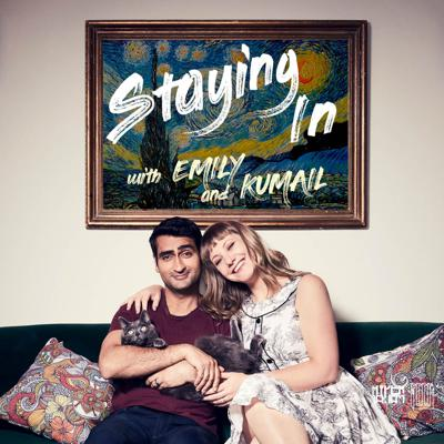 In this podcast — whose profits go to charities helping those affected by Coronavirus — Emily V. Gordon and Kumail Nanjiani are uniquely qualified to lead you through this forced quarantine situation. They are both writers who work from home. Emily was a therapist and currently is a chronically sick person (see: The Big Sick) who often has to quarantine herself, and Kumail is her main caretaker. Plus, we both just like being at home. Let us advise you on how to stay calm and avoid cabin fever. Let us give you entertainment recommendations. Let us give you constant updates on the squirrel vs. bird war happening right outside our window. Let us not talk about the C word at all. And most of all, let us take all of the proceeds from this podcast and spread it amongst charities that are helping those who are hit hardest by this quarantine.   100% of the Net Revenue* from the podcast featured on this page will be donated in equal portions to the following three charities to support their efforts to assist individuals and families affected by the COVID-19 pandemic: Restaurant Workers Community Foundation, the Center for Disaster Philanthropy and Feeding America. For more information about the benefiting charities, please go to:  https://www.restaurantworkerscf.org/ https://disasterphilanthropy.org/ https://www.feedingamerica.org/  *