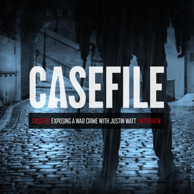Cover art for Case 78: Exposing a War Crime with Justin Watt | Interview