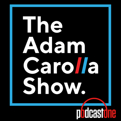 Welcome to the new home for Adam's rantings and ravings. This is the #1 Daily Downloaded Podcast in the World. GET IT ON as Adam shares his thoughts on current events, relationships, airport security, specialty pizzas, politics, and anything else he can complain about. Five days a week and completely uncensored, Adam welcomes a wide range of guests to join him in studio for in depth interviews and a front row seat to his unparalleled ranting. Let's not forget Bryan Bishop (Bald Bryan) on sound effects.  Check it out as Adam hangs out with some of his pals like: Larry Miller, David Allen Grier, Dr. Drew Pinksy, Dana Gould, Doug Benson, and many, many more.