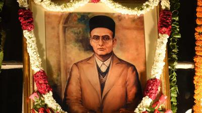 Cover art for Savarkar And India
