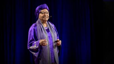 Cover art for How women will lead us to freedom, justice and peace | H.E. Ellen Johnson Sirleaf