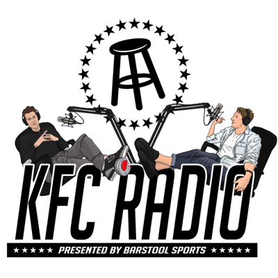 Hosted by KFC and Feitelberg, KFC Radio is the quintessential bar conversation brought to podcast form. Listener interaction is the name of the game as Barstool readers and listeners contribute their Stoolie Voicemails to drive the conversation to strange places including embarrassing personal stories, bizarre hypothetical questions, and more. New episodes of the hilarious Barstool Network flagship show are released every Tuesday and Thursday.